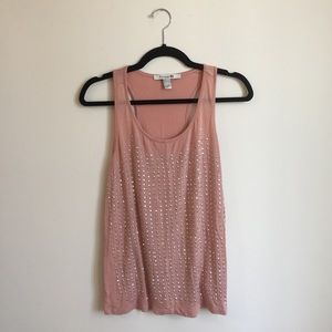 Forever 21 jewel tank top size large